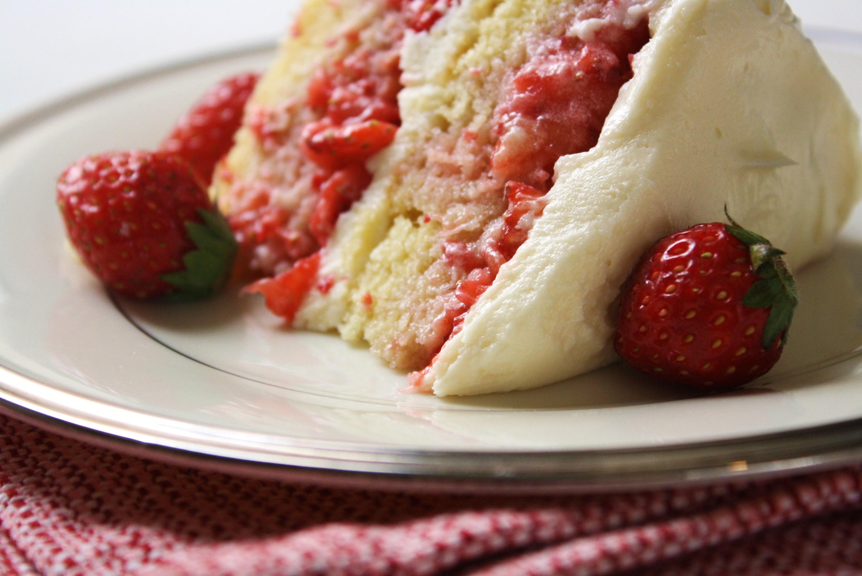 Strawberry Shortcake Cake Recipe Strawberry Shortcake Cake