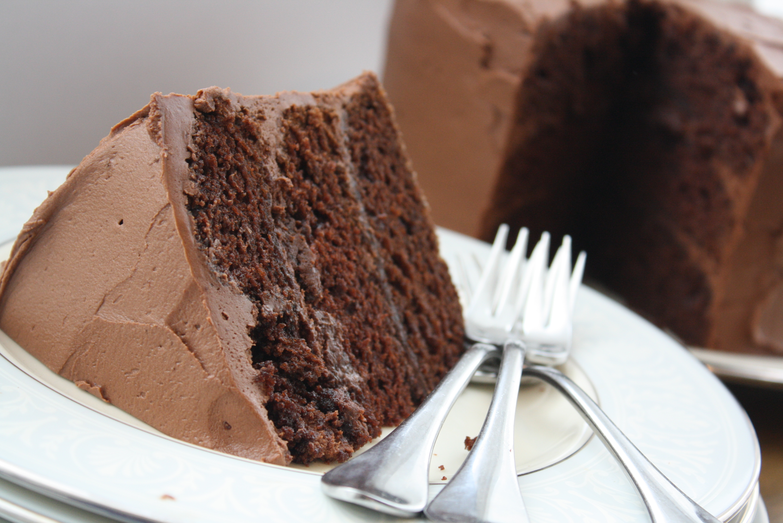 bon appetit's chocolate (mayonnaise) cake | Two Tiny Kitchens